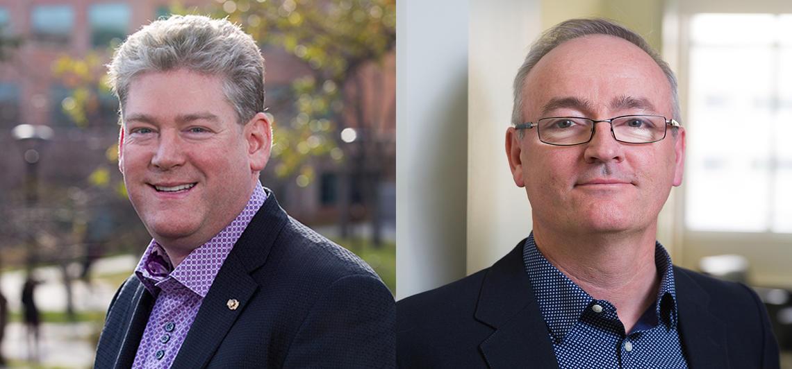 Mark Starratt and Richard Wilson