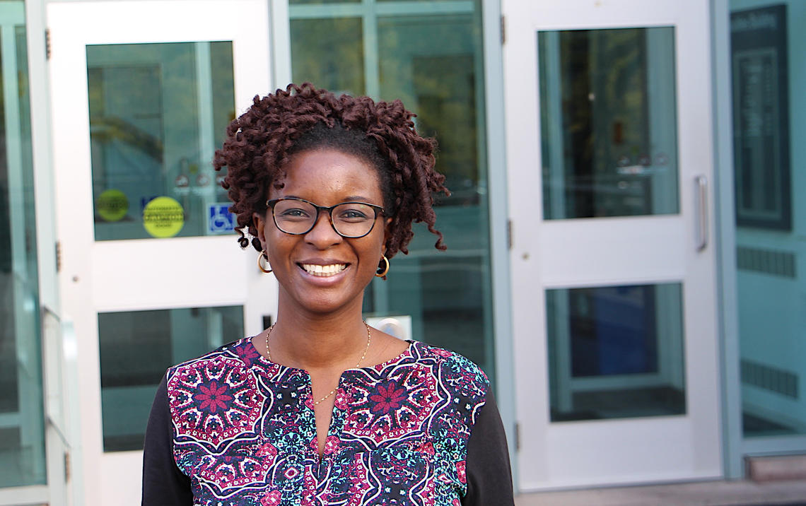 Portrait of FSW alumna Kehinde Ekpudu