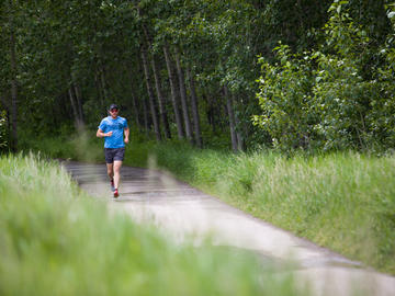 Ian MacNairn, ultra-runner and Cumming School of Medicine PhD student