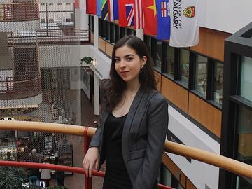 Ana Cherniak-Kennedy, UCalgary Law student