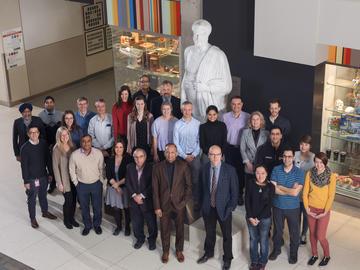 Many of the team members of the Calgary Stroke Program