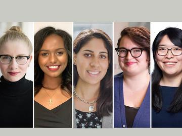 Catharine Bowman,Ruth Legese,Hannah Rahim,Haley Vecchiarelli,Linhui Yu