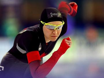 Isabelle Weidemann came closest to the speed skating podium for Canada on Sunday at the ISU World Speed Skating Championships, placing fourth in the Women's 5,000m, matching a career high on Sunday, Feb. 14.