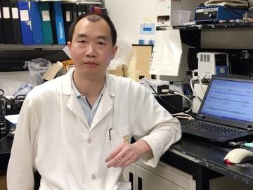 Dr. Mingke Ni, PhD, a member of the Chen lab, was instrumental in solving the mystery behind this fatal heart flaw.