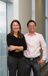 Steve Liang, AITF-Microsoft Industry Chair in Open Sensor Web in the Department of Geomatics Engineering at the Schulich School of Engineering, and Maribeth Murray, Executive Director of the Arctic Institute of North America and Professor of Anthropology and Archaeology are leading the ArcticConnect