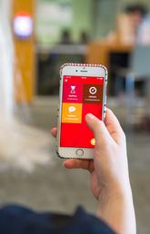 SoloSafe and HelpLine — two new modules on UC Emergency Mobile — were rolled out to all app users on Jan. 8. Photo by Riley Brandt, University of Calgary