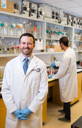 Michael Kallos is director of the Biomedical Engineering Initiative and lead of the University of Calgary's biomedical engineering strategic research theme. He and his team are trying to encourage healthy stem cells to multiply, to aid in the treatment of a host of medical issues.