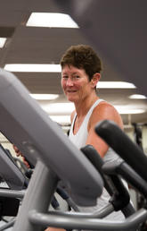 Tish Doyle-Baker, professor in the Human Performance Lab in the University of Calgary's Faculty of Kinesiology, spoke about the Science of Sweat in mid-September during Beakerhead, a Calgary festival of art, science and engineering.