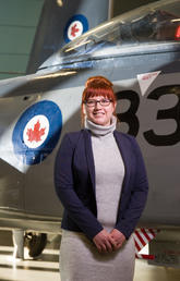 University of Calgary PhD candidate Lorraine Smith-MacDonald is researching post-traumatic stress disorder (PTSD) for her thesis.