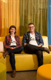 Hannah Hunter-Loubert and Jay Moch