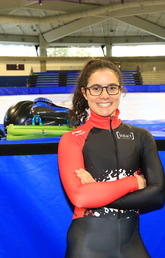 Alison Desmarais and her Canadian short track teammates are excited for the first World Cup of the season, running Nov. 2 to 4 at the University of Calgary's Olympic Oval.