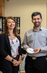 University of Calgary scientists and study co-authors Chantel Debert and Amir Sanati-Nezhad say the ability to rapidly detect changes to brain function by analyzing a small amount of a person's blood after a concussion or brain injury would revolutionize treatment.