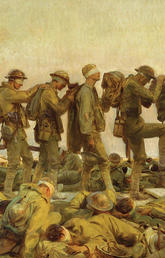 John Singer Sargent, Gassed, 1919. Collection of the Imperial War Museum