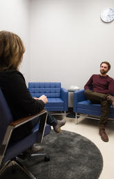 The University of Calgary's state-of-the-art, in-house psychology clinic officially opened on Nov. 21, 2017. Photos by Riley Brandt, University of Calgary