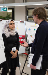 Faculty of Arts students reveal diverse skills at reverse career fair