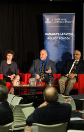 On March 20, the Haskayne School of Business hosted Global Energy Challenge: Carbon Tax Unpopularity from France to Washington State, to discuss strategies to make climate policy speak to everyday concerns of all stakeholders.