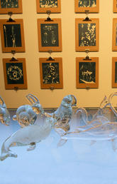 Mireille Perron: Anatomy of a Glass Menagerie: Altaglass, installation views. Photos by Dave Brown, Libraries and Cultural Resources