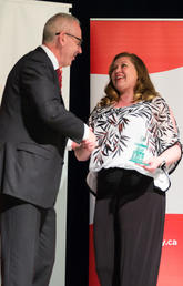 The 2019 Recognition Awards celebrated the incredible contributions made by UCalgary employees that make the university a great place to learn and work. Photos by Riley Brandt, University of Calgary