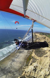 A new landing for Outdoor Centre hang-gliding veteran