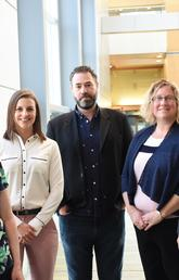 Researchers who worked on new cannabis report