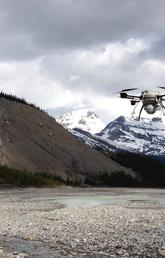 UAVs or drones have played a large part in learning more about the damage caused by the record-setting floods of 2013. Photo courtesy Chris Hugenholtz