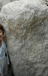 University of Calgary archaeologist Kathryn Reese-Taylor noticed a spike in the number of Maya warrior queens between about 600 and 800 A.D. Photo by Alejandra Alonso, Naachtun Archaeological Project