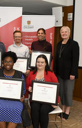 Shining Star Awards showcase passionate people committed to health and safety on campus