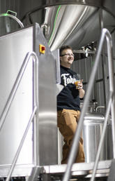 Brewing beer no Fahr stretch for this bioengineer