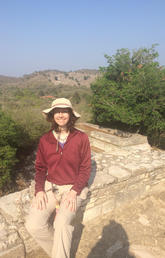 Elizabeth Paris, assistant professor of archaeology at Tenam Puente.