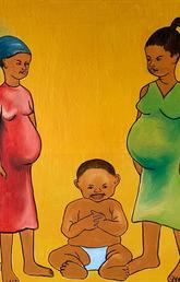 Health sciences students help paint pictures of maternal health in Uganda