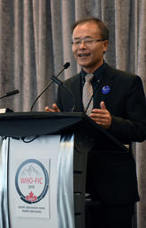 Hude Quan, director of the O'Brien Institute WHO Collaborating Centre for Classification