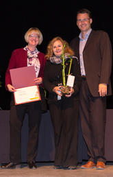 Pictured above is last year's Faculty Research in Sustainability Award winner: Dr. Sasha Tsenkova.