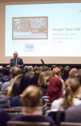 2019 Budget impacts and strategies explained at UCalgary town hall