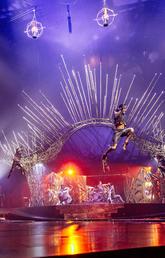 Cirque de Soleil's Alegria performance