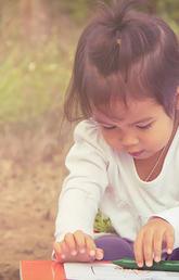 Children learn through exploring the world