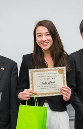 Mako Smith wins 2018 Alberta Japanese Speech Contest
