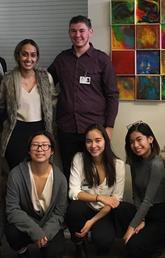 Nursing students at Notre Dame High School