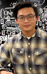 Tim Cruz, pictured in the Hunter Hub for Entrepreneurial Thinking