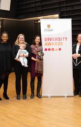 CV&Me members receive UCalgary Equity and Diversity award