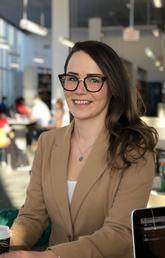 Courtney Petruik hopes her PhD dissertation will inform practise and improve end of life care for people who are homeless.