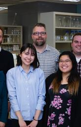 Dr. Jason Plemel Research Team at UCalgary