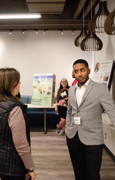 Reverse career fair puts arts students in the spotlight