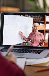 Online learning setup