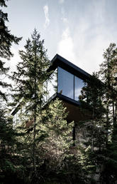 completed private residence in Whistler