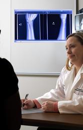 Prism Schneider and patient