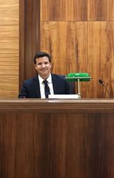 Matthew Benson at the Supreme Court of Canada