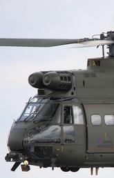 A Royal Airforce helicopter: SA 300 Puma
