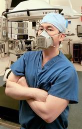 Dr. Stanley Yung-Chuan Liu modelling mask
