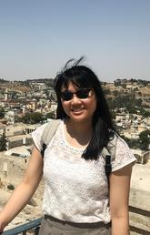 Angie Hu in Israel