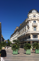 Building in Tours, France